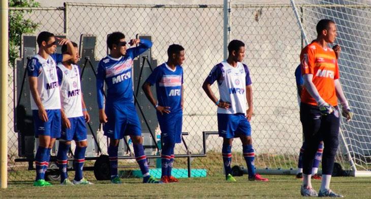 Técnico esboça time titular tricolor (Foto: EC Bahia / Divulgação)