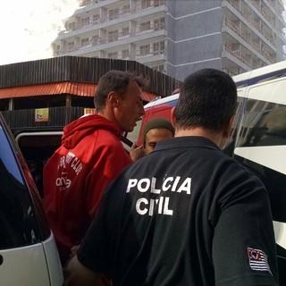 Carlos Luna, goleiro detido por suspeita de manipulação de resultados (Foto: Leonardo Lourenço)
