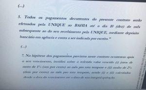Processo Judicial da empresa Unique contra o Bahia