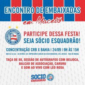 Encontro das Embaixadas em Maceió