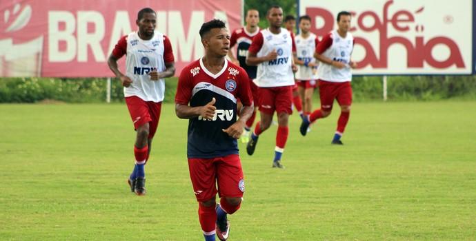 Dos que estrearam no profissional em 2016, Cristiano foi o mais aproveitado (Foto: Divulgação/EC Bahia)