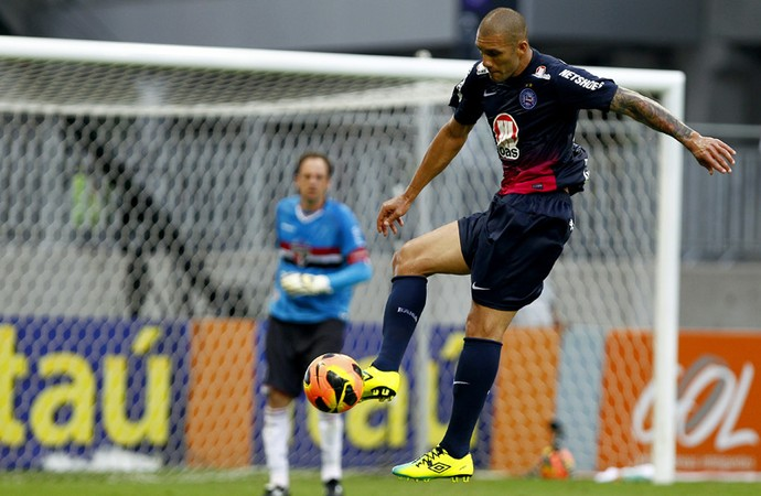 Fernandão foi um dos destaques do Bahia na temporada 2013 (Foto: Felipe Oliveira/Divulgação/EC Bahia)