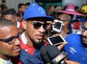 Hernane Brocador, artilheiro do Bahia no ano ( Foto: Max Haack / Ag Haack / Bahia Notícias)