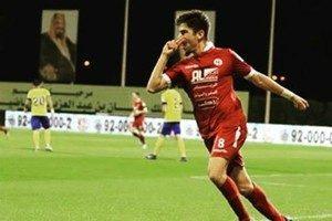 Luisinho é titular no Al-Faisaly (Foto: Reprodução / Instagram)
