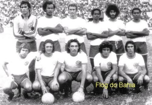 Em pé: Rafael, Sapatão, Roberto Rebouças, Baiaco, Romero e Ubaldo. Agachados: Thyrso, Douglas, Beijoca, Fito e Marquinhos
