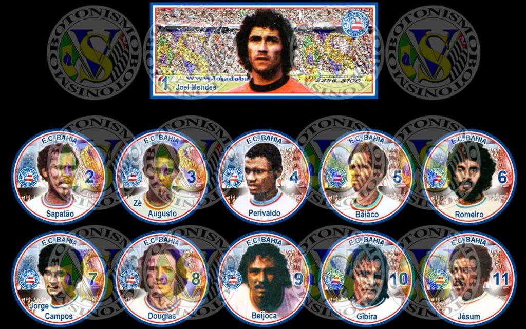 Time de botão do Bahia de 1976