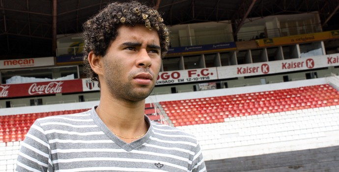 Fábio Gama deixou o Bahia sem emplacar como profissional (Foto: Cleber Akamine / Globoesporte.com)