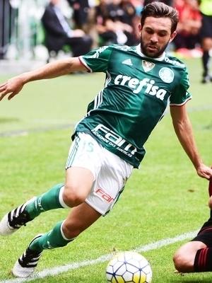 Allione fez 71 jogos no Palmeiras (Foto: Djalma Vassão/Gazeta Press)