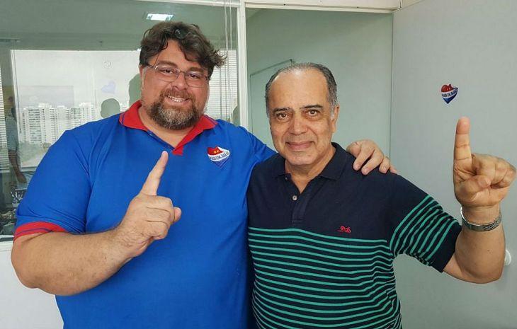 Abílio Freire tem Virgílio Elísio como seu vice (Foto: Divulgação)