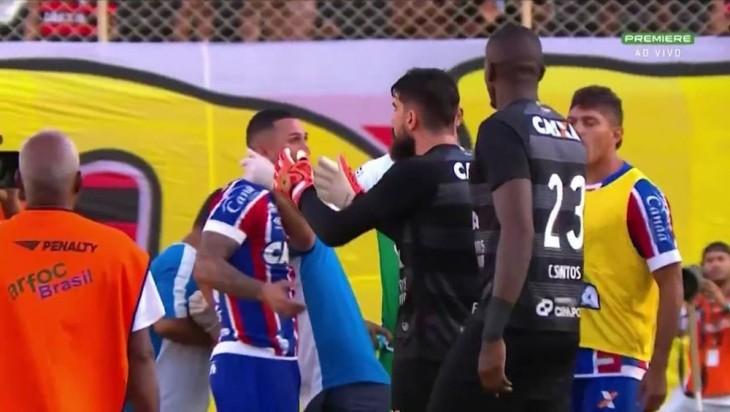 Fernando Miguel pede desculpas para Vinícius (Foto: Reprodução)