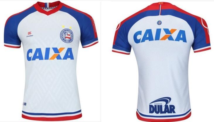 Novo uniforme branco do Bahia (Foto: Reprodução)