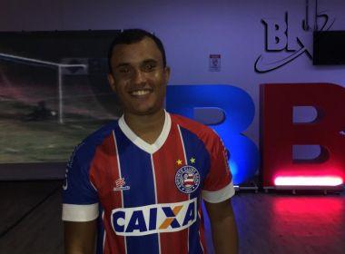 Bruno Queiroz, criador de um dos uniformes do Bahia (Foto: Ulisses Gama/Bahia Notícias)