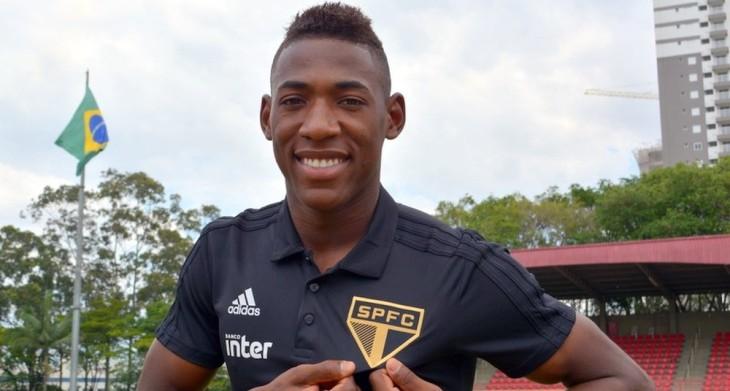 Léo foi contratado pelo São Paulo (Foto: Érico Leonan/saopaulofc.net)