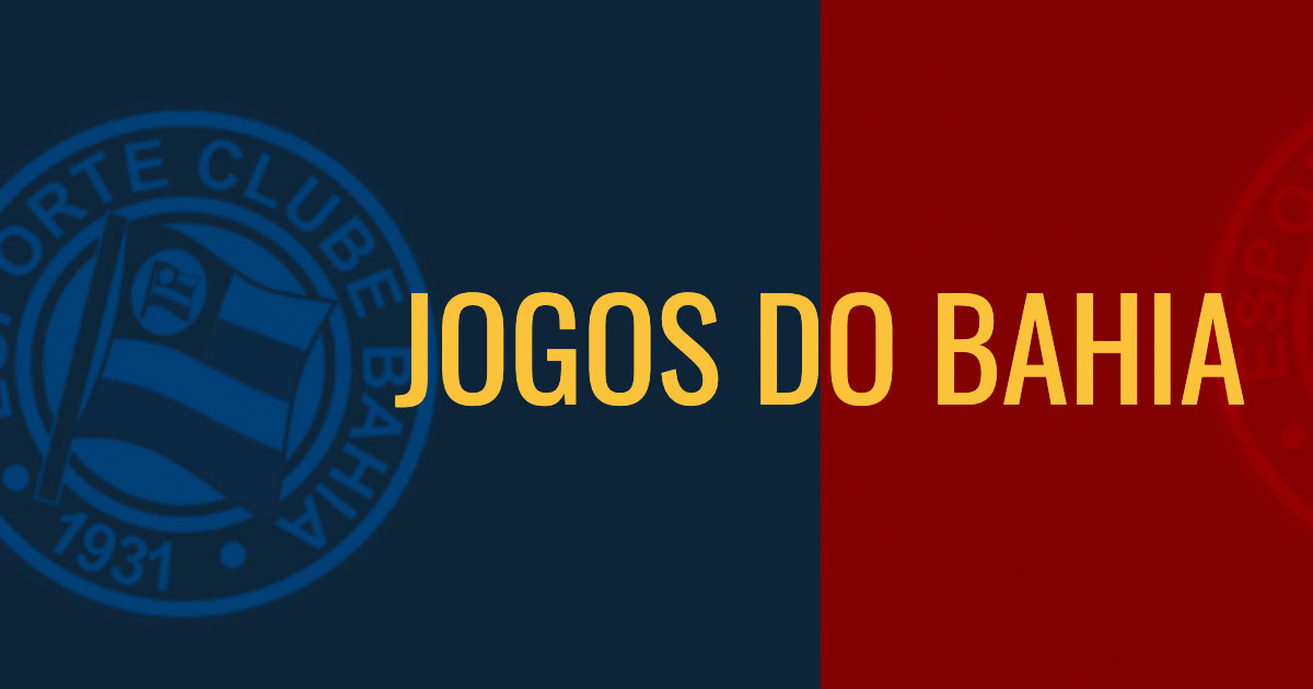 Jogos do Esporte Clube Bahia - Torcidabahia.com